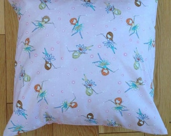 Magical Pink fairy cushion cover