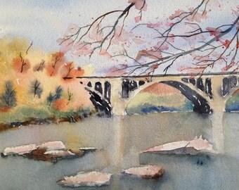 Key Bridge - Autumn