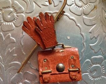 1950's charming vintage brooch