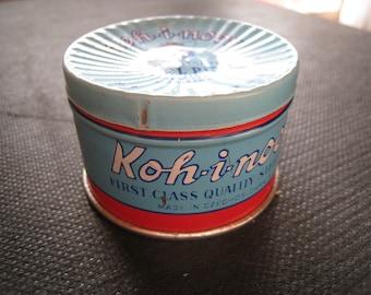 Koh-i-noor vintage pin tin