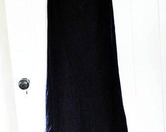 Vintage Ralph Lauren Velvet Floorlength Skirt