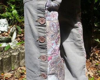 ZCAVARICCI upcycled ONE of a KIND hand sewn