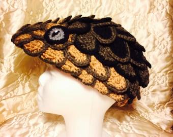 Knit Dragon Hat