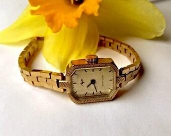 Vintage Ladies watch Luch, made in USSR, Women's soviet watch, Vintage watch, Russian watch, AU