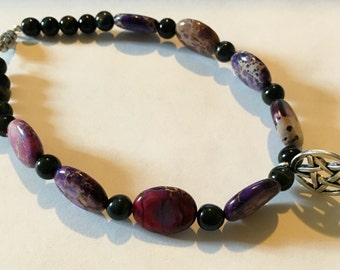Bracelet with pentagram charm