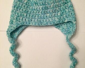 Newborn Earflap Hat