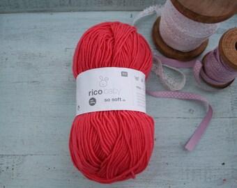 Rico Baby So Soft DK Yarn Melon 005