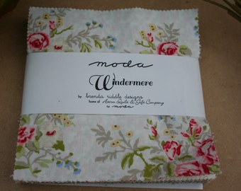 Moda Windermere Charm Pack 5in Squares