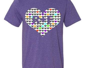 R+F hearts Women's t-shirt