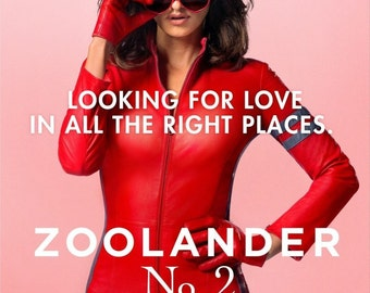 Zoolander No2 Heart Sunglasses Giclee Print Movie Poster FREE SHIPPING