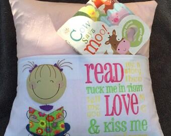 Adorable Good Night Reading Pillow