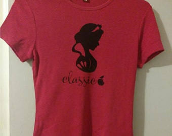 Classic Princess Shirt Snow White Inspired