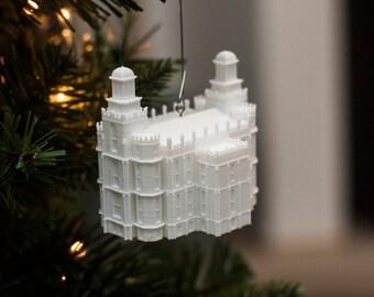 Logan, UT LDS Temple Christmas Ornament