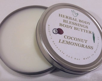 Coconut Lemongrass Body Butter