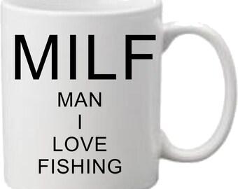 M I L F Mug Printed