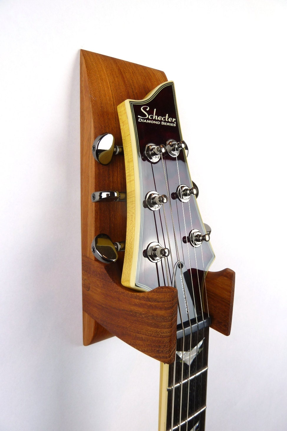 Jatoba Wall Mounted Guitar Hanger