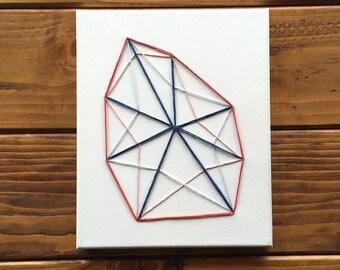 Canvas String Art - Krystal Rock