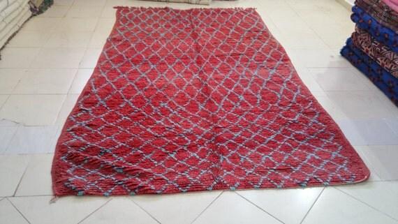 Vintage beni mguild rug tapis berbère alfombras maroques