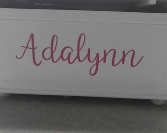 Personalized vinyl decal!