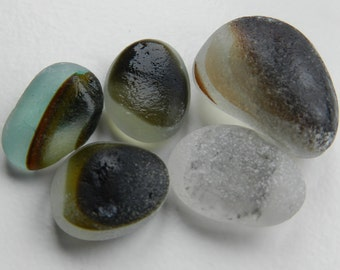 Earthy English Seaglass Multis