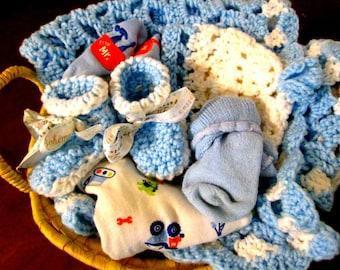 Baby Shower Gift Basket Boy/Girl
