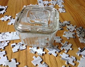 Federal Glass Refrigerator Dish