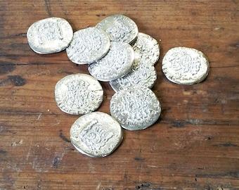 Ten Replica 'Pieces of Eight' Coins
