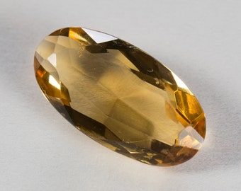 Natural Orange/Golden Citrine, Oval Mixed Cut, 3.80ct
