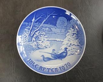 1970 Bing & Grondahl Christmas Plate