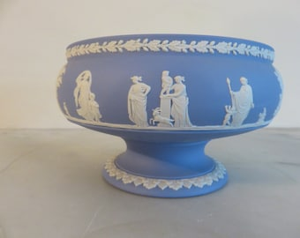 Wedgwood Blue Jasperware Imperial Bowl