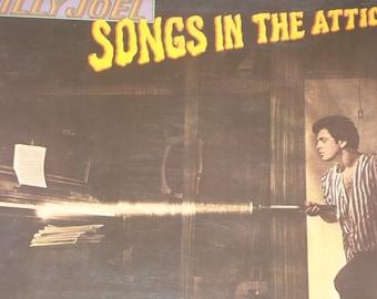 Billy Joel record album, Billy Joel Songs In The Attic vintage vinyl record