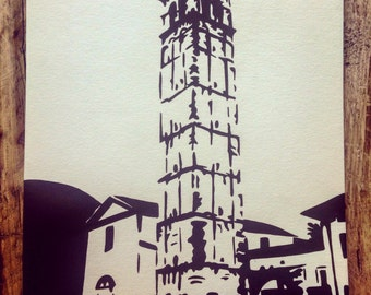 Custom Bell Tower painting