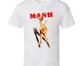 Funny Retro Mash T Shirt