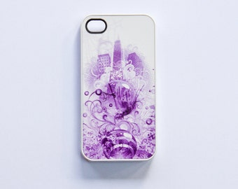iPhone 4 case cover with New York motif (POP)