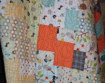 Polka Dot Animal Quilt