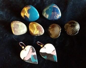 Vintage 80's Earrings - 4 Sets