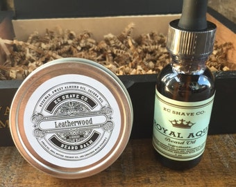 beard grooming gift box beard kit birthday gift by kcshaveco. Black Bedroom Furniture Sets. Home Design Ideas