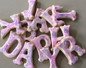 Sugar Cookie Letters