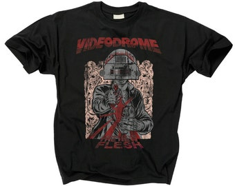 VIDEODROME T shirt Long Live The New Flesh