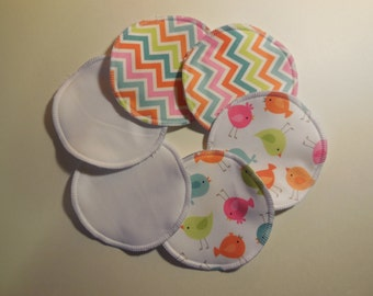 Washable nursing pads, pack of 3