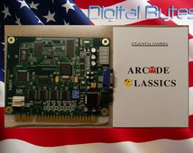 60 in 1 Classic Arcade Games JAMMA PCB - Multicade - Vertical Orientation