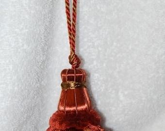 Vintage Rust Colored Tassle
