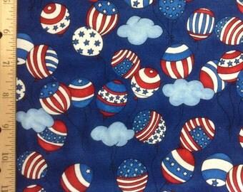 Robert Kaufman   Patriotic Balloons   #2752