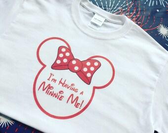 Minnie Me Maternity Tee
