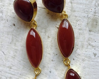 Pretty in Red onyx and Carnelian