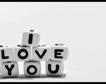 11x17 Photo Print - I Love You