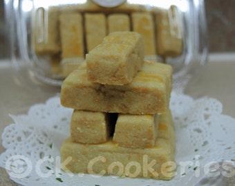 Kastengel (Dutch-Indonesian Cheese Shortbread Cookies)