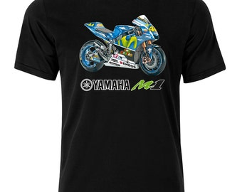 Yamaha R1 M1 Moto GP team vr46 fn  T Shirt  s/m/l/xl/xxl