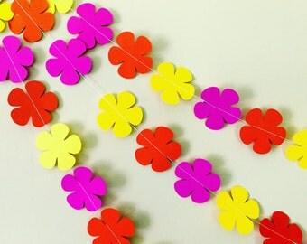 CoraCraft Grand Tropics Paper Flower Garland