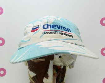 Tropical Hawaiian Chevron Oil Refinery Party Hat